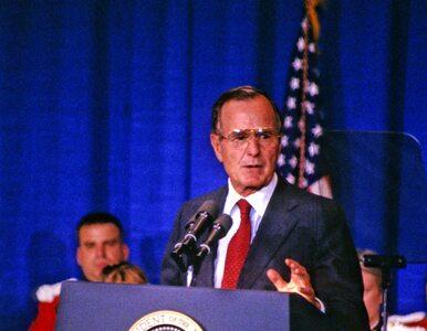 """George Bush senior oskarżony o molestowanie. """"Nie wiedziałam, co mam..."""