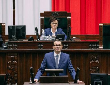 Wotum zaufania dla rządu Morawieckiego. Sejm podjął decyzję