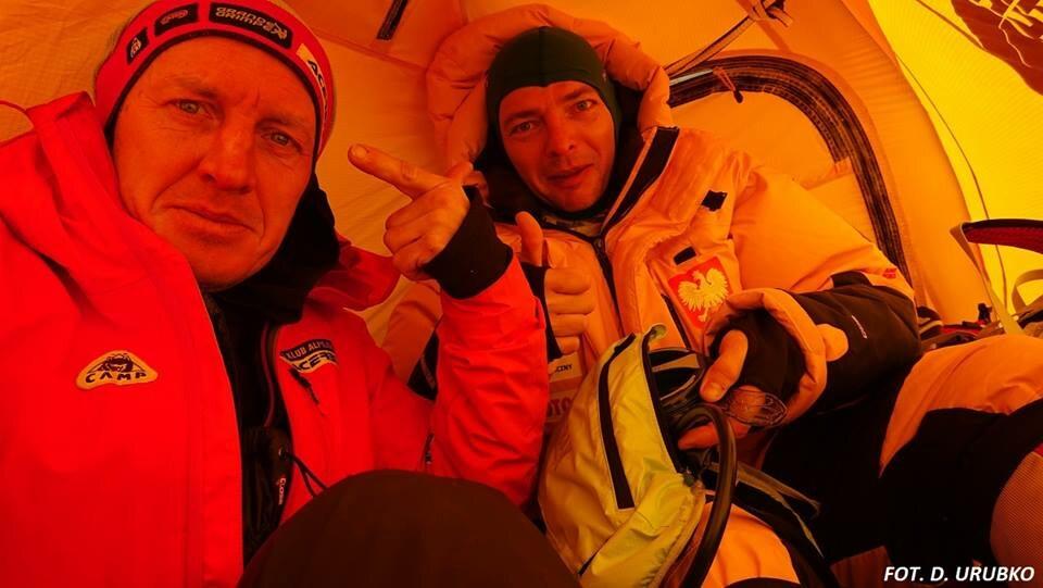 Marcin Kaczkan i Denis Urubko