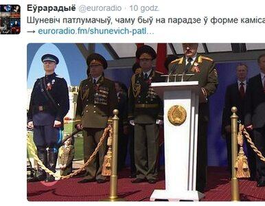 """Białoruski minister w mundurze NKWD. """"Okazałem szacunek kolegom"""""""