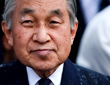 Cesarz Japonii wyszedł ze szpitala