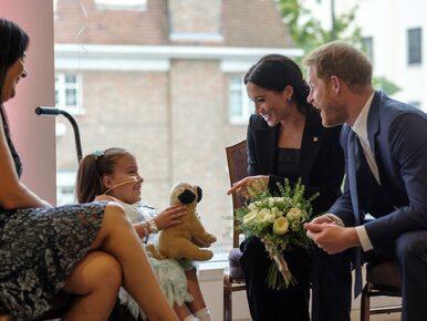 Wzruszający gest księżnej Meghan podczas WellChild Awards