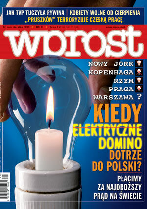 Okładka tygodnika Wprost nr 41/2003 (1089)