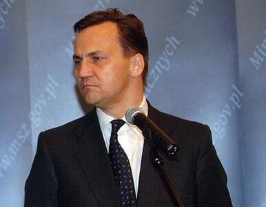 Sikorski: My też zapłacimy za sankcje wobec Rosji. I to więcej niż inni