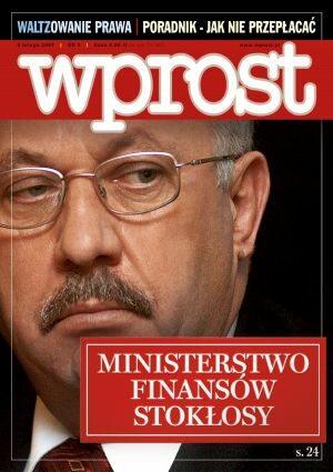 Okładka tygodnika Wprost nr 5/2007 (1258)