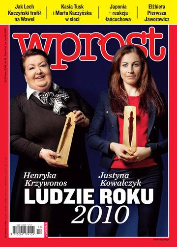 Okładka tygodnika Wprost nr 12/2011 (1467)