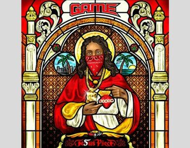 Jezus jak raper na okładce nowej płyty Game'a