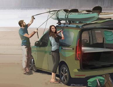 Będzie kamper w wersji mini od Volkswagena. Na bazie nowego Caddy
