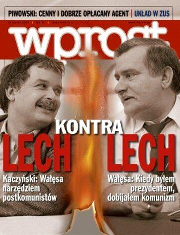 Okładka tygodnika Wprost nr 11/2007 (1264)