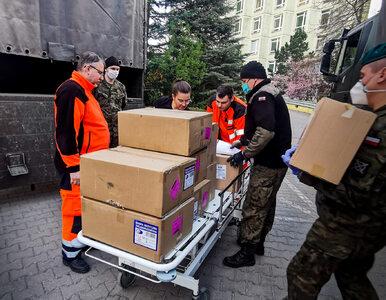 Wojsko dostarczyło maseczki i płyn do dezynfekcji do 49 placówek medycznych