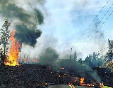 Lawa z Kilauea dotarła do elektrowni. Nikt nie wie, czym może to grozić
