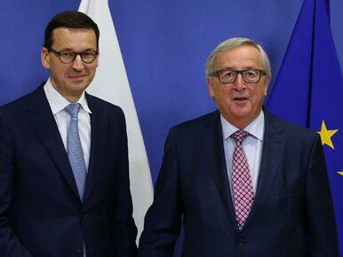 Morawiecki spotkał się z Junckerem i Timmermansem. To pierwsze tego typu...