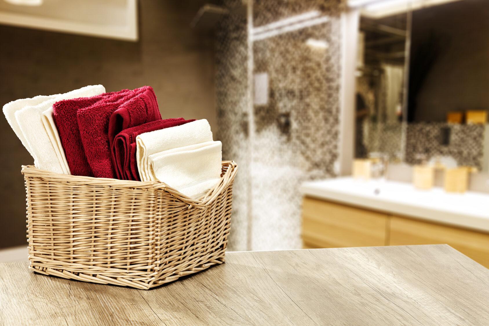 Ręczniki w łazience