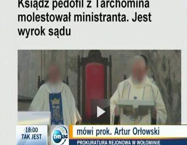 Ksiądz z Tarchomina zatrzymany. Usłyszy zarzut zgwałcenia małoletniego