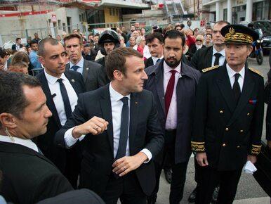 Chciał zabić Emmanuela Macrona w Dzień Bastylii. Miało to być jego...