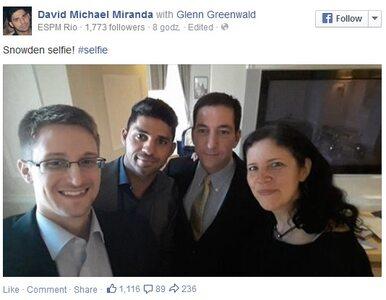 Selfie Edwarda Snowdena