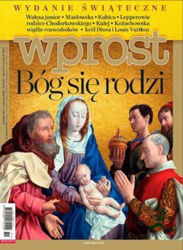 Okładka tygodnika WPROST: 51-52/2011