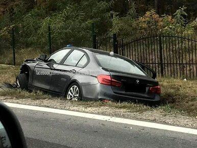 Policjanci z nieoznakowanego BMW trafili do szpitala. Polonez wymusił...