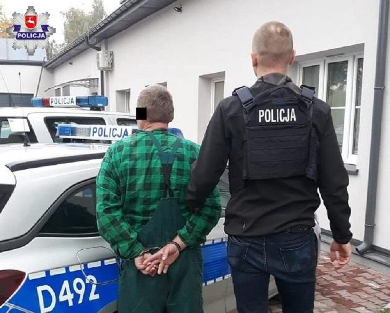43-latek z Międzyrzeca Podlaskiego chciał wrobić swojego kolegę