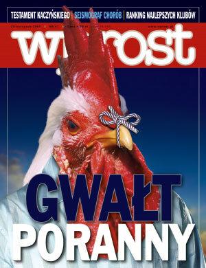 Okładka tygodnika Wprost nr 47/2007 (1300)