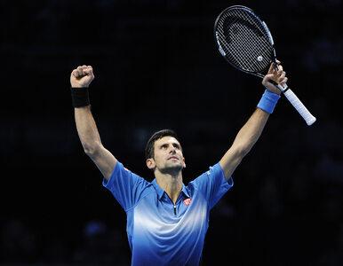 Djoković lepszy od Federera. Czwarty tytuł z rzędu w Masters
