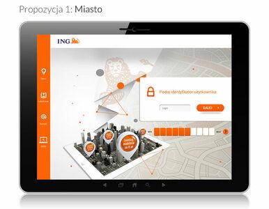 Zadecyduj o wyglądzie aplikacji ING Banku Śląskiego na tablety