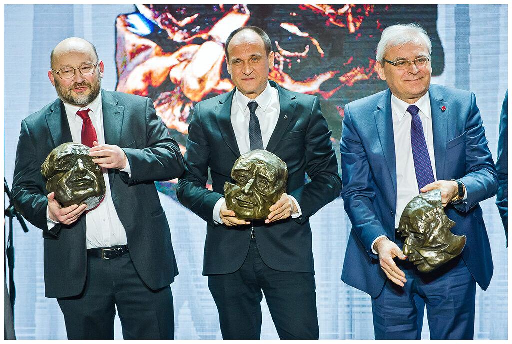 Paweł Jabłoński, Paweł Kukiz i Andrzej Zarajczyk Laureaci Nagrody Kisiela 2016