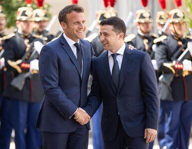 Macronowi nie uda sięszybko sprzedać Putinowi Ukrainy
