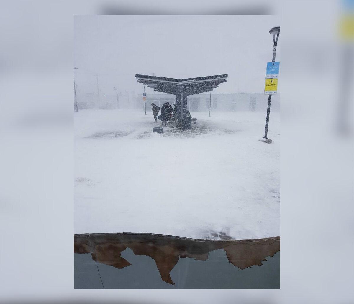 Skutki zimy w Stanach Zjednoczonych oraz w Kanadzie