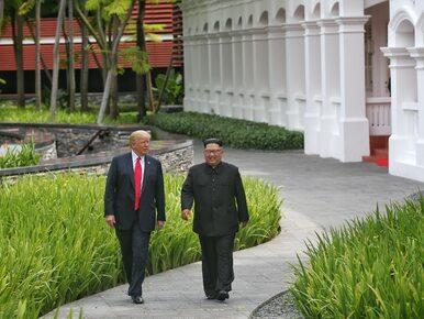 Co zjedli Kim Dzong Un i Donald Trump? Biały Dom pokazał menu