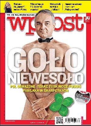 Okładka tygodnika Wprost nr 30/2012 (1536)