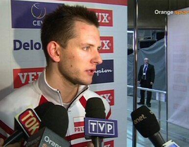 Bartosz Kurek: przepraszam za tie-break, biorę to na siebie