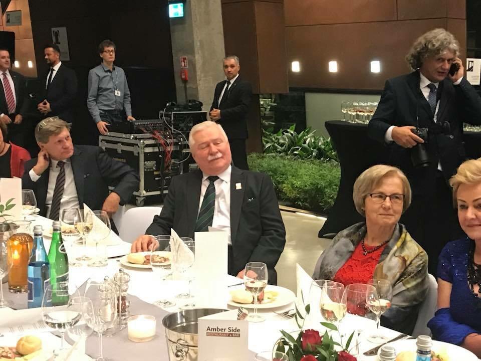 74. urodziny Lecha Wałęsy w ECS