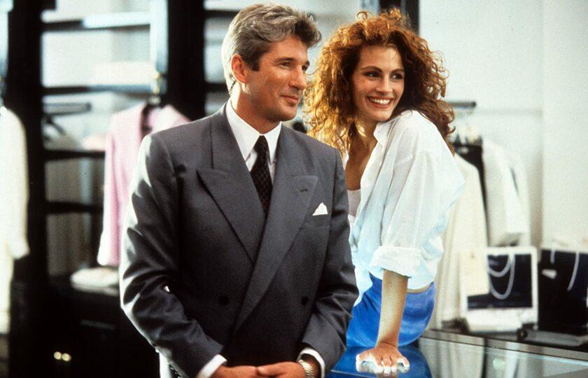 """Richard Gere i Julia Roberts w filmie """"Pretty Woman"""" (1990)"""