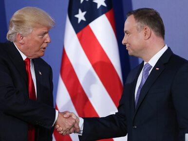 Kiedy Andrzej Duda spotka się z Donaldem Trumpem? Jest zapowiedź...