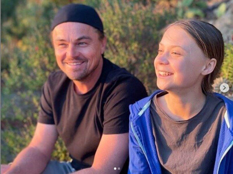 Leonardo DiCaprio i Greta Thunberg