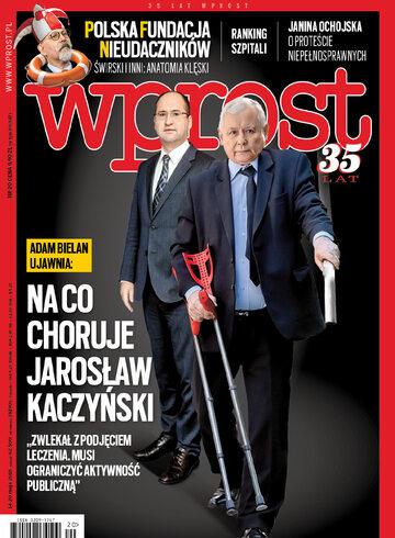Okładka tygodnika WPROST: 20/2018