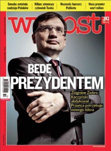 Okładka tygodnika WPROST: 10/2012