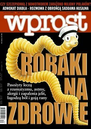 Okładka tygodnika Wprost nr 30/2004 (1130)