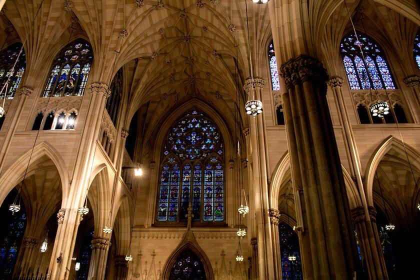 Wnętrze katedry św. Patryka