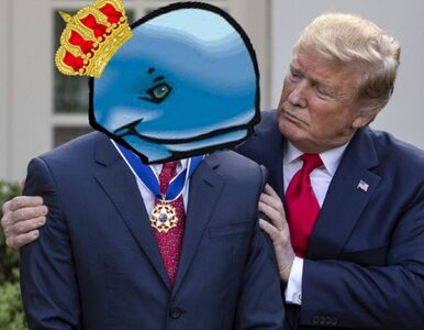 """Donald Trump pisze o """"księciu wielorybów"""". Internauci odpowiedzieli memami"""