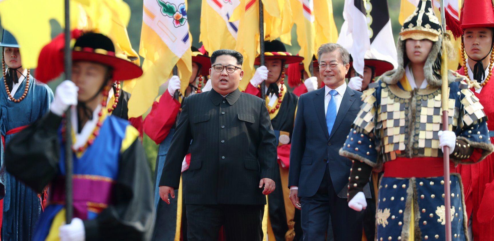 Spotkanie przywódców Korei Północnej i Południowej