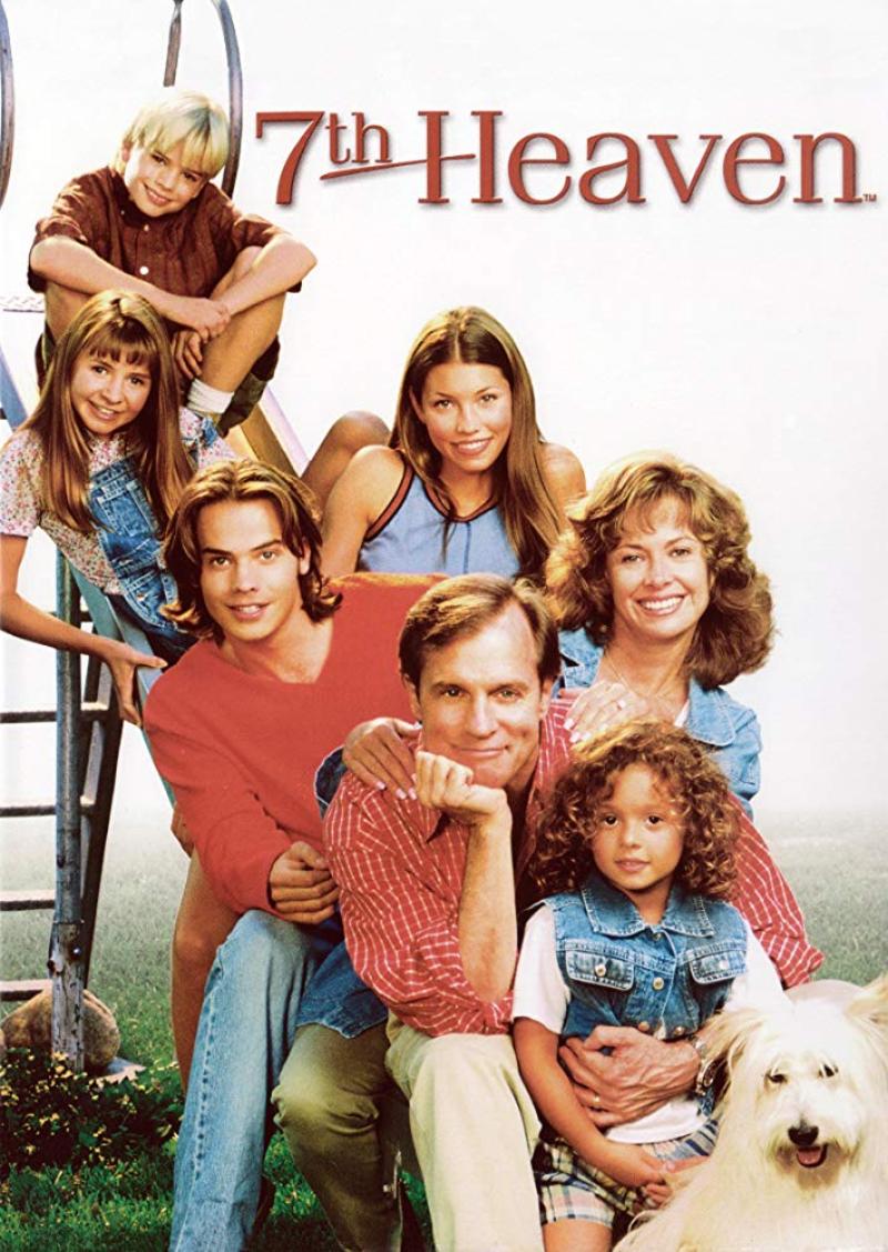"""Plakat serialu """"Siódme niebo"""""""