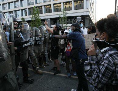 USA. Wojskowe śmigłowce rozpędzają protesty. Trump pozuje z Biblią przed...