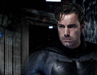 """Ben Affleck zdradził, dlaczego porzucił rolę Batmana. """"Zapijesz się na..."""