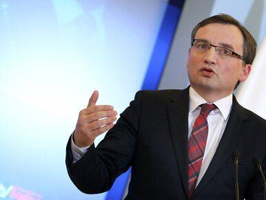 Ziobro: PO i PSL gwarantowały bezkarność dla ludzi z nimi związanych