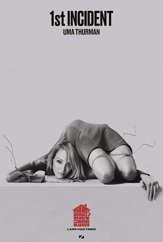 """Uma Thurman na plakacie filmu """"Dom, który zbudował Jack"""""""