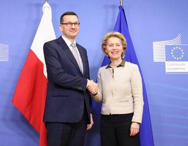 """Premier Morawiecki po spotkaniu z szefową KE. """"Będzie mniej środków na..."""