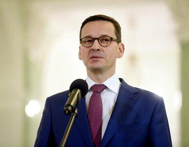 Premier Morawiecki: Kandydaci na szefów resortów są już znani