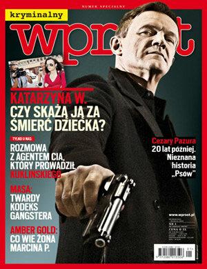 Okładka tygodnika Wprost nr 18/2013 (1575)